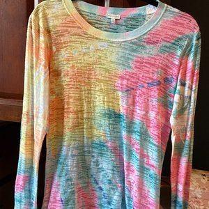 Maurices Long sleeve sheer top